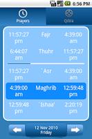 Screenshot of Muslim helper
