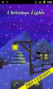 Winter 3D Free Live Wallpaper - screenshot thumbnail