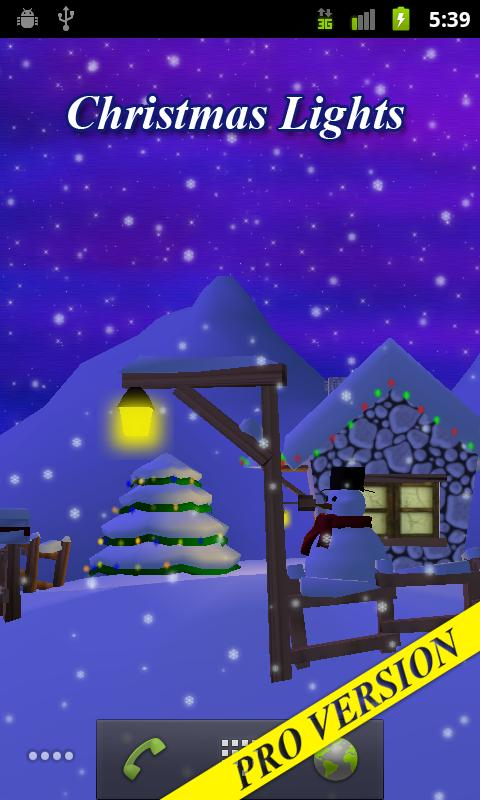 Winter 3D Free Live Wallpaper- screenshot
