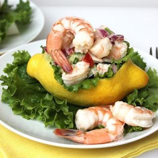 Lemon Shrimp Salad.