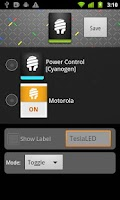Screenshot of TeslaLED Flashlight Donate