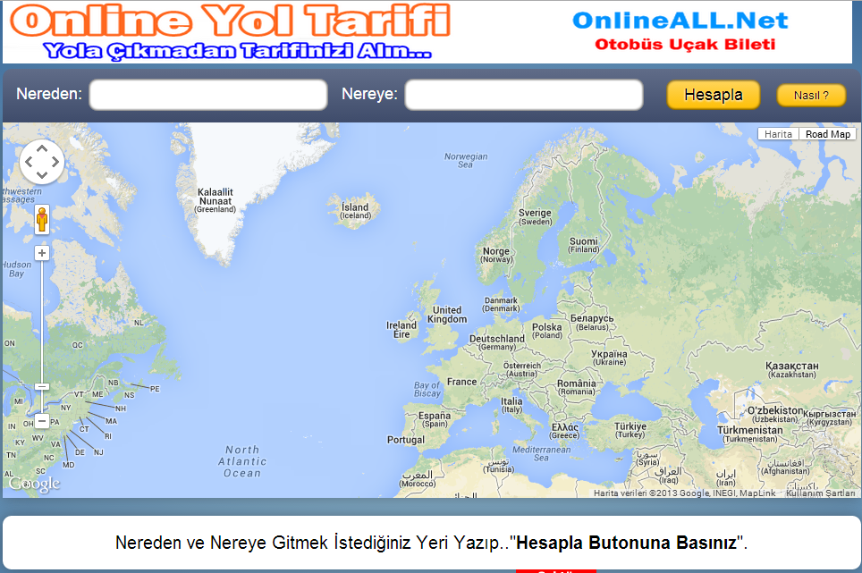 Yol Tarifi By OnlineALL - screenshot