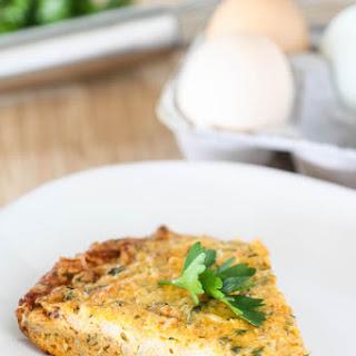 Roasted Cauliflower Frittata.