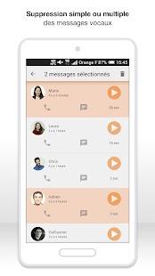 Messagerie vocale visuelle- screenshot thumbnail