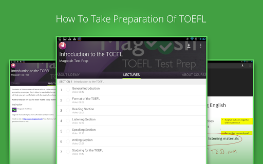【免費教育App】Tutorials For TOEFL-APP點子