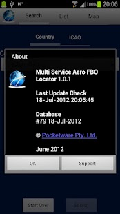 Multi Service Aero FBO Locator - screenshot thumbnail