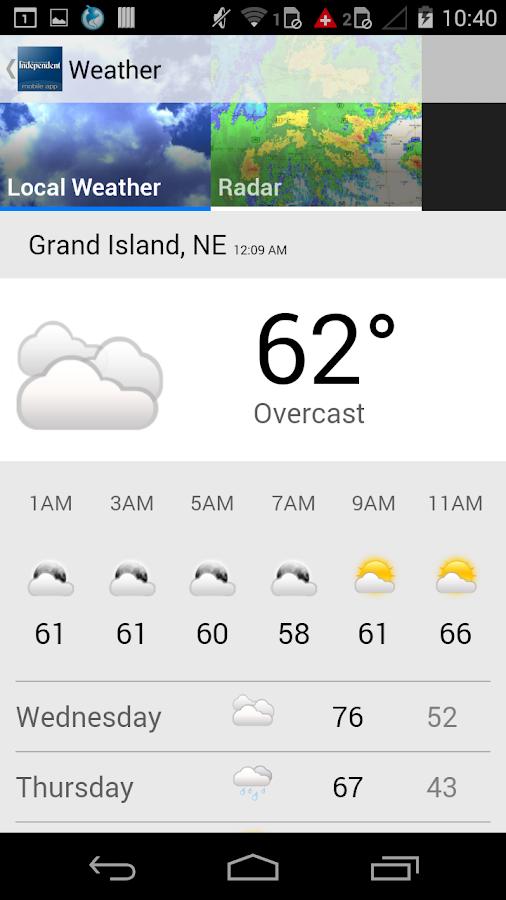Grand Island Independent - screenshot