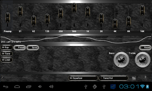 poweramp skin black snake Screenshot 5