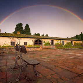 ... over the rainbow ... by Roberto Nencini - Landscapes Weather