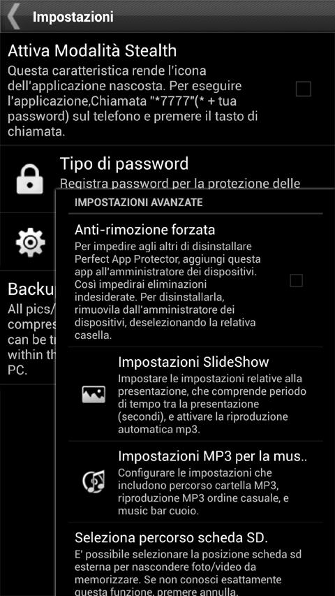 Gallery Lock (italiano) - screenshot