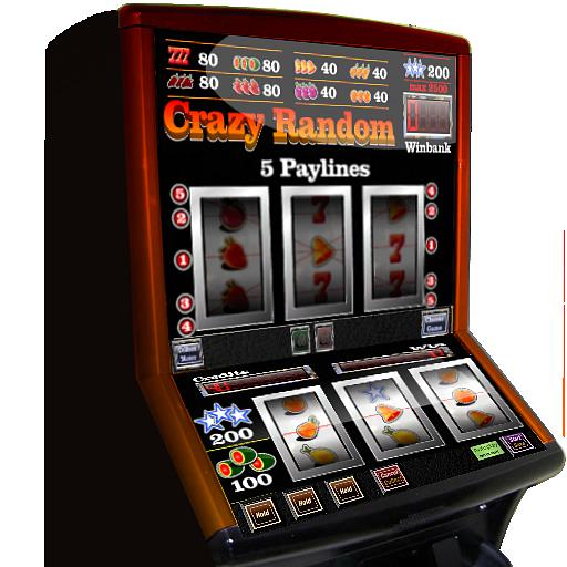 slot machine crazy random
