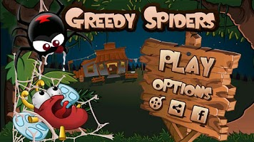 Screenshot of Greedy Spiders Free