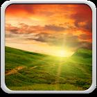 Sonnenuntergang Hintergrund icon