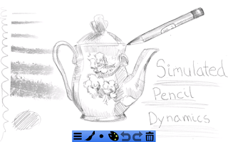 Screenshot of Doodledroid - paint and sketch