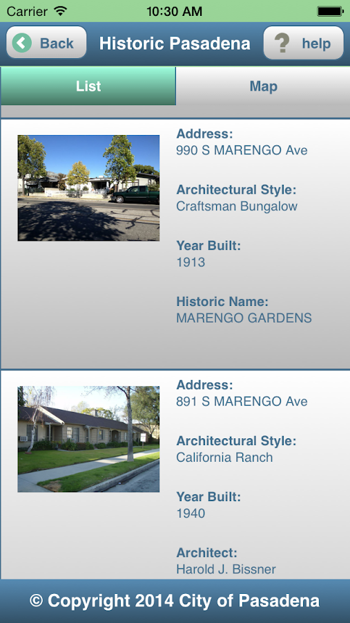 Historic Pasadena- screenshot