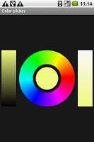 Screenshot of OI Flashlight