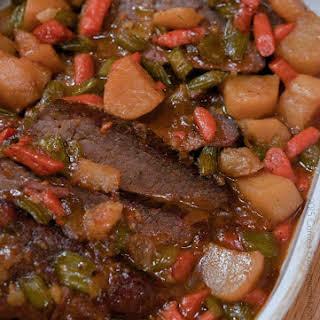 Homestyle Pot Roast.