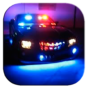 Police lights for Android