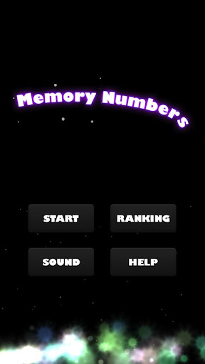 MemoryNumbers