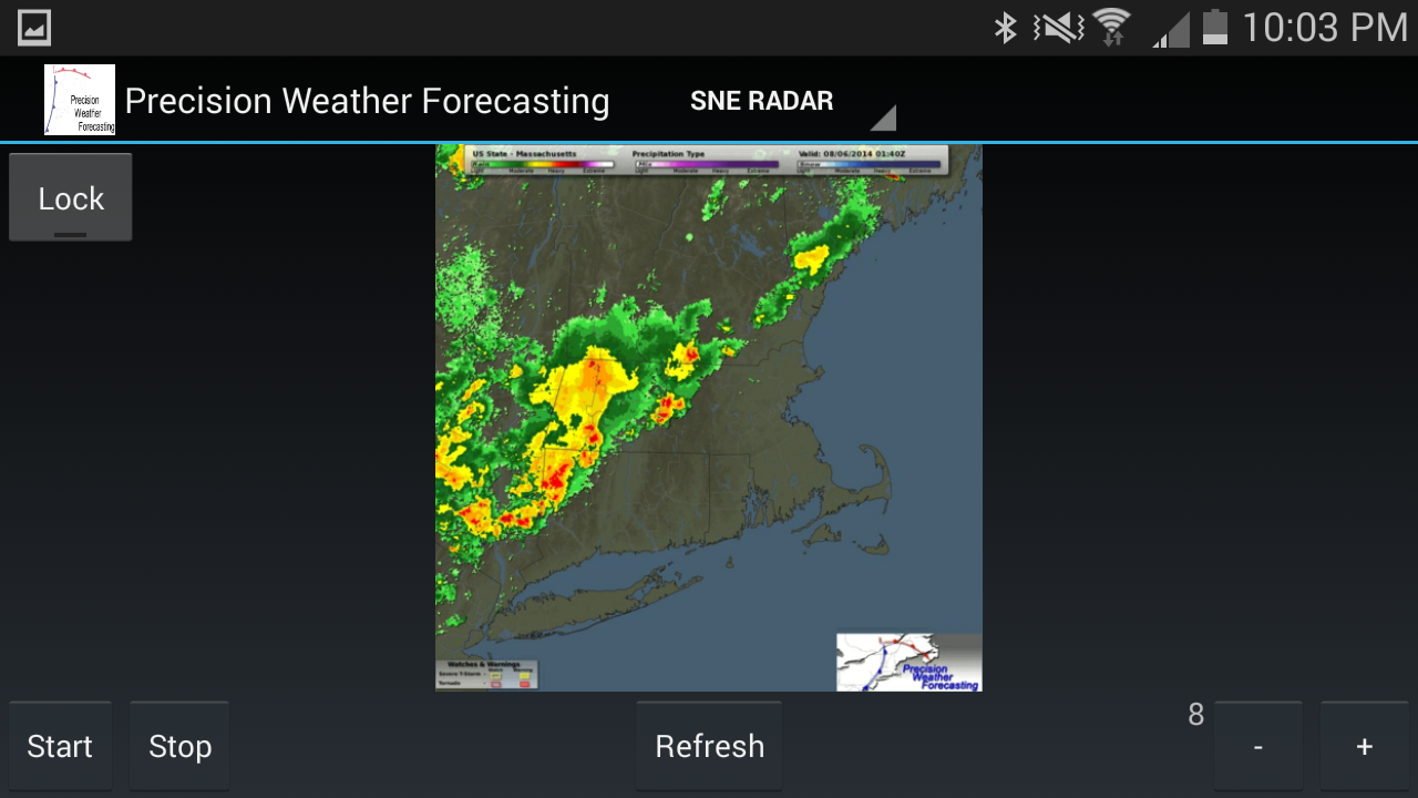 Precision Weather Forecasting- screenshot