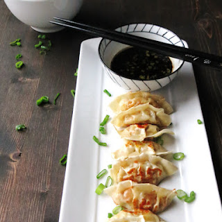 Homemade Gyoza and the Best Dipping Sauce Ever.