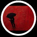 Mi4 BW Umbrella live wallpaper icon