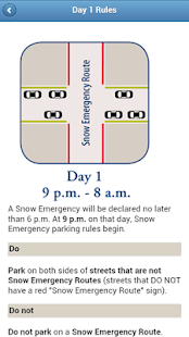 Mpls Snow Emergency Rules - screenshot thumbnail