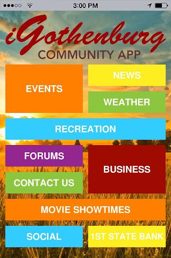 iGothenburg Community App
