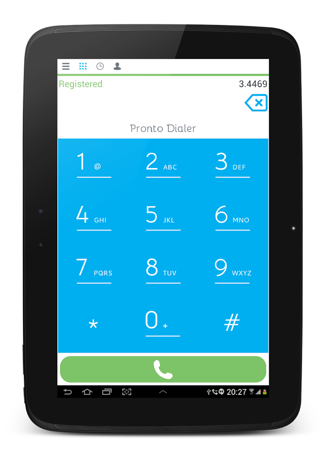 Pronto Dialer - screenshot