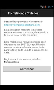 Fix Numeros Telefonos Chile - screenshot thumbnail