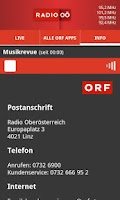 Screenshot of ORF Radio Oberösterreich