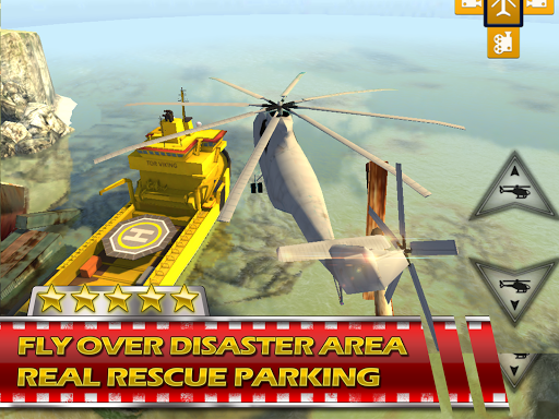 Rescue Helicopter -3D Parking