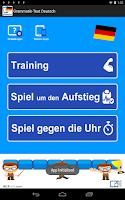 Screenshot of German Grammar