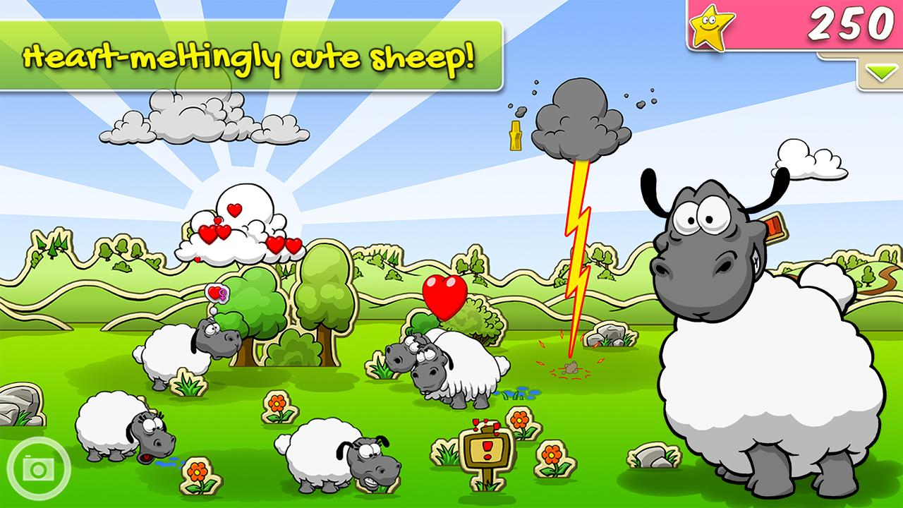Clouds & Sheep- screenshot