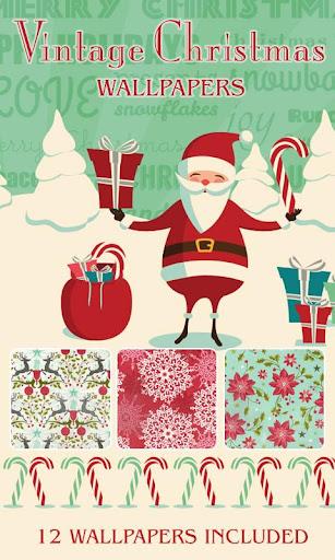 Vintage Christmas Wallpapers