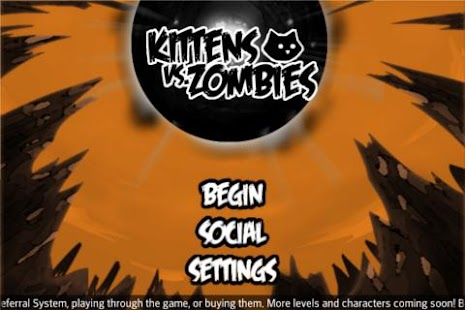 Kitten Vs. Zombie- screenshot thumbnail