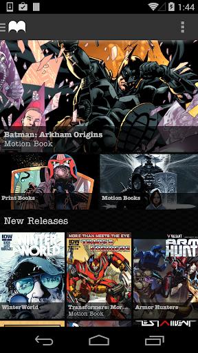 Madefire Comics Motion Books