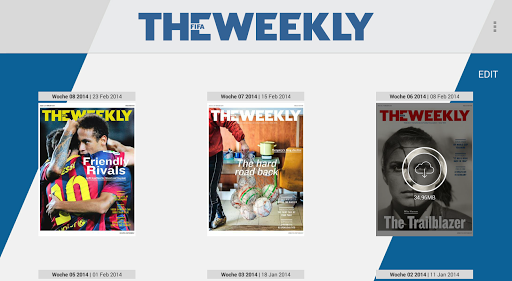 The FIFA Weekly Tablets