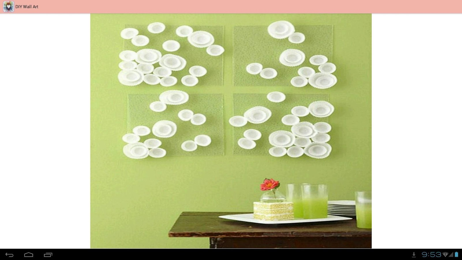 Enchanting Diy Ideas For Wall Art Mold - The Wall Art Decorations ...