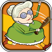 Running Granny Against Zombie