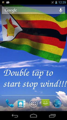 3D Zimbabwe Flag LWP +