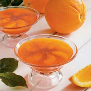 Orange Gelatin Cups