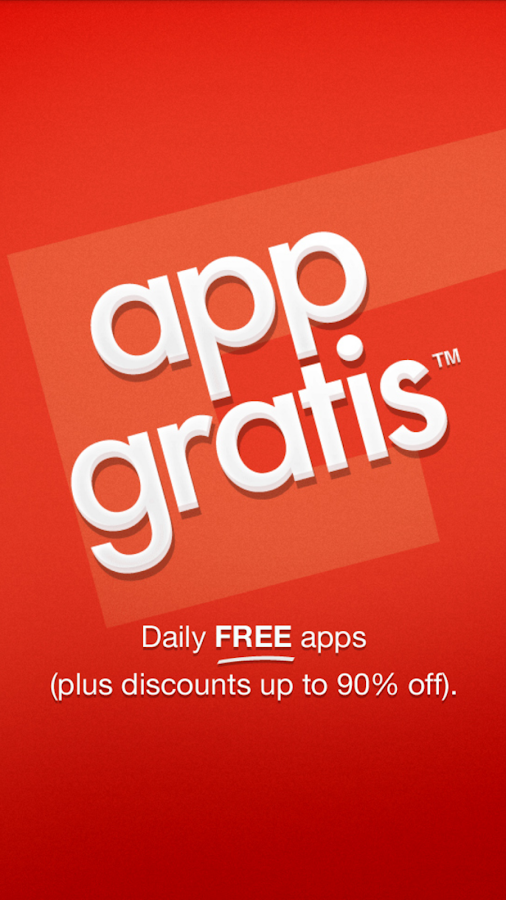AppGratis - screenshot