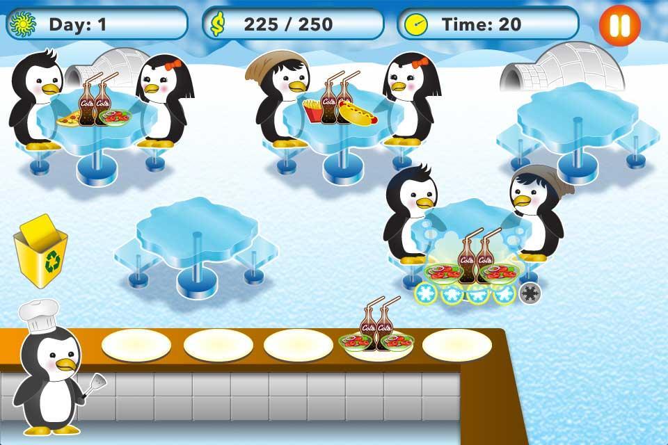 Penguin-Restaurant-Waitress 22