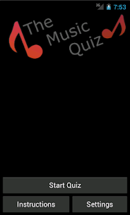The Music Quiz- screenshot thumbnail