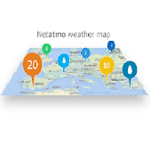 Weather map (netatmo)