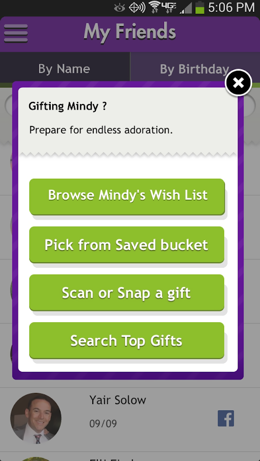 Perfect Gift Sent As Gift Card - screenshot