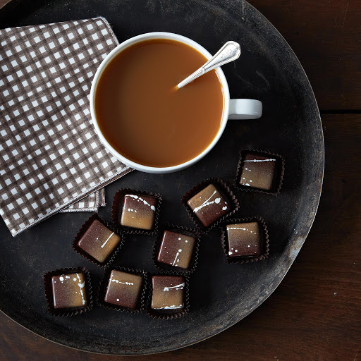 Brown Butter Bourbon Caramels (2 Tins)