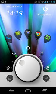 Knobs Toucher Theme GO - screenshot thumbnail