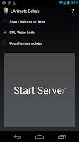 Screenshot of LANmote Deluxe